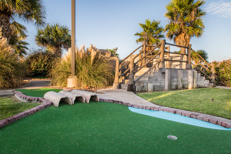 Holiday Inn Club Vacations Galveston Beach Resort-Enjoy a challenging game of mini golf<br/>Image from Leonardo
