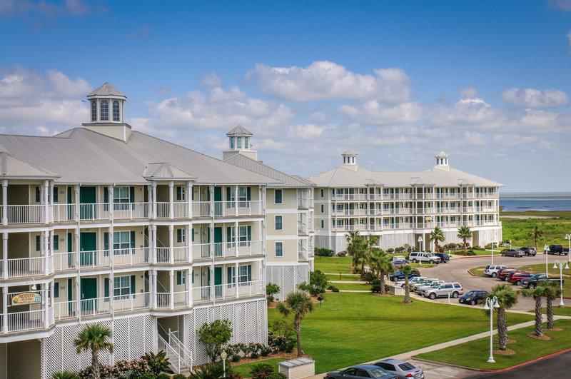 Holiday Inn Club Vacations Galveston Beach Resort-Galveston Seaside Resort Exterior view of guest villas<br/>Image from Leonardo