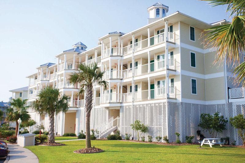 Holiday Inn Club Vacations Galveston Beach Resort-Exterior view of villa <br/>Image from Leonardo