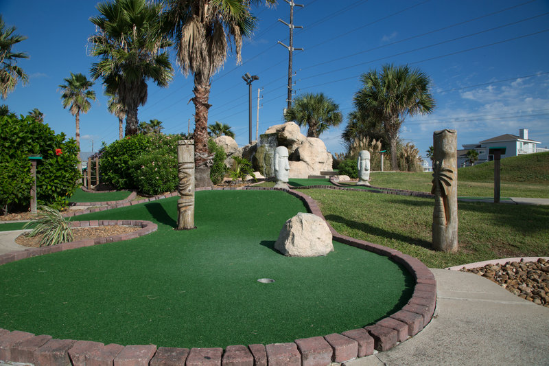 Holiday Inn Club Vacations Galveston Beach Resort-Enjoy a round of mini golf with family and friends at the resort<br/>Image from Leonardo