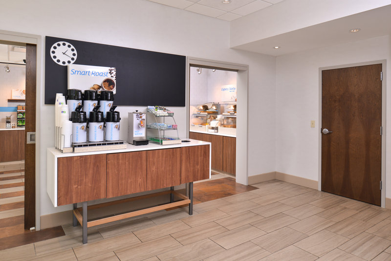 Holiday Inn Express & Suites Buffalo Downtown-Coffee & Tea ready all day!<br/>Image from Leonardo