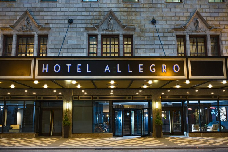Hotel Allegro; A Kimpton Hotel - Hotel Exterior <br/>Image from Leonardo
