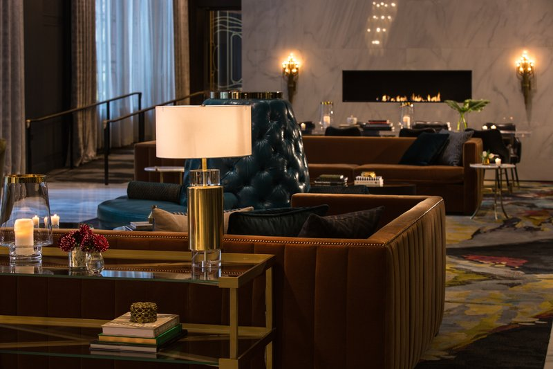 Hotel Allegro; A Kimpton Hotel - Hotel Lobby <br/>Image from Leonardo