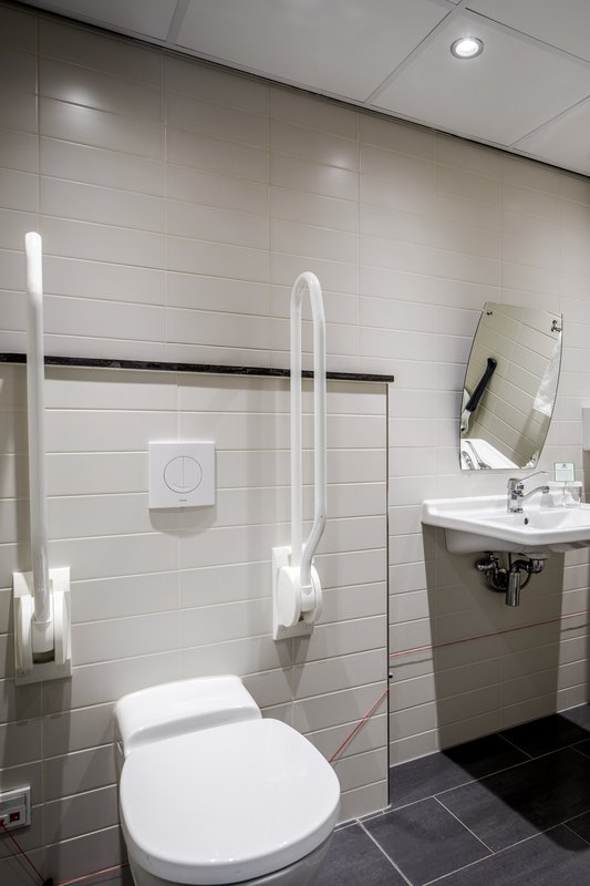 Holiday Inn Eindhoven-Wheelchair accessible bathroom<br/>Image from Leonardo