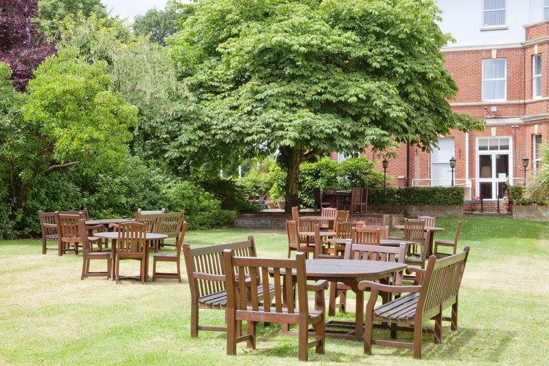 Holiday Inn Farnborough-Relax in our spacious courtyard and garden<br/>Image from Leonardo