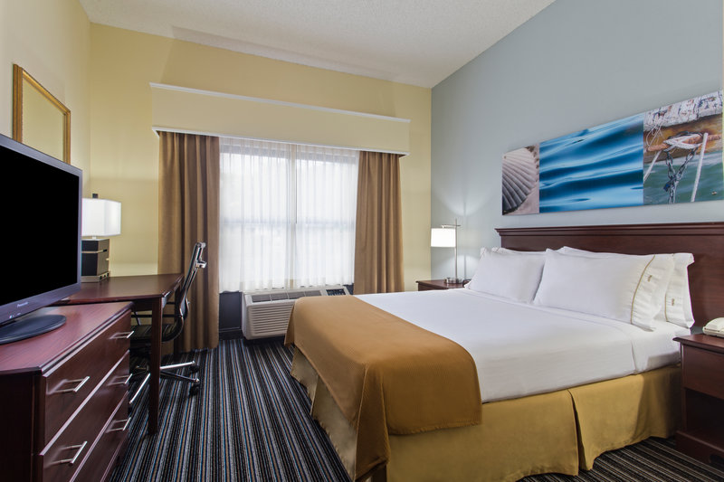 Holiday Inn Express Hotel & Suites Clearwater North/Dunedin-Family Suite Queen Bed with two bunks<br/>Image from Leonardo