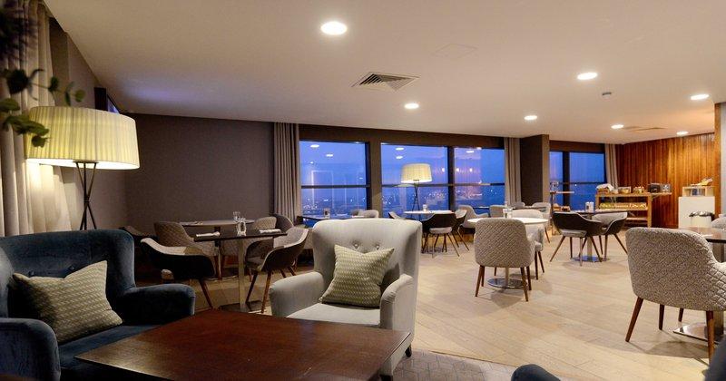 Crowne Plaza Newcastle - Stephenson Quarter-Club Lounge<br/>Image from Leonardo