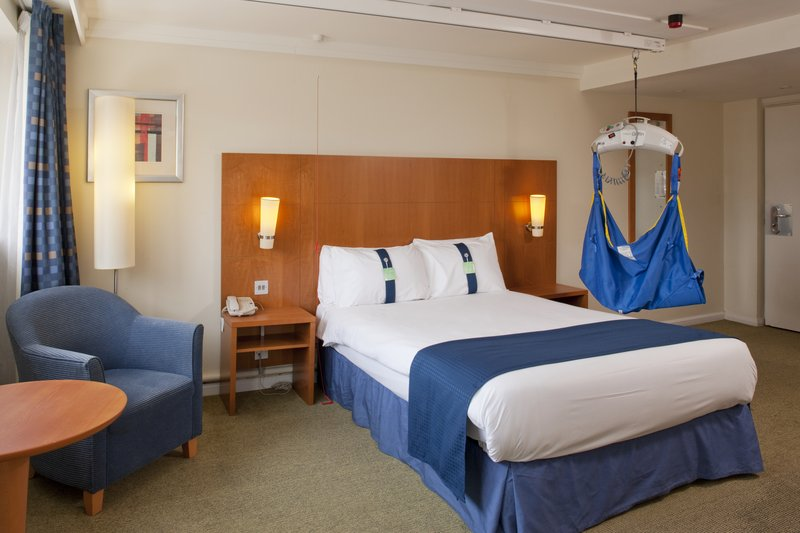 Holiday Inn Cardiff City Centre-Accessible Double Bed Guest Room<br/>Image from Leonardo