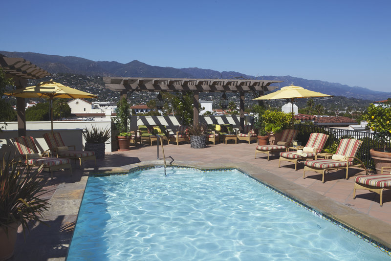 Canary Hotel Santa Barbara - A Kimpton Hotel-Rooftop Swimming Pool<br/>Image from Leonardo