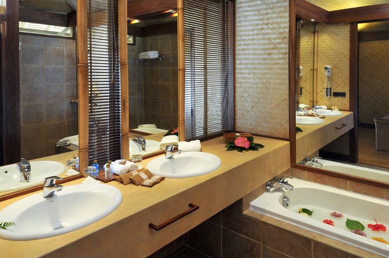 Sofitel Moorea Ia Ora Beach Resort-Guest Bathroom<br/>Image from Leonardo