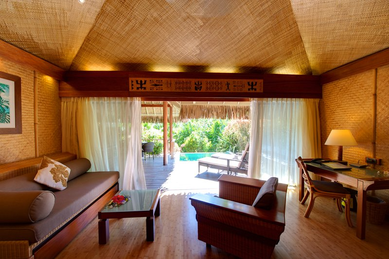 Intercontinental Moorea Resort-Junior Suite Garden Pool Bungalows<br/>Image from Leonardo
