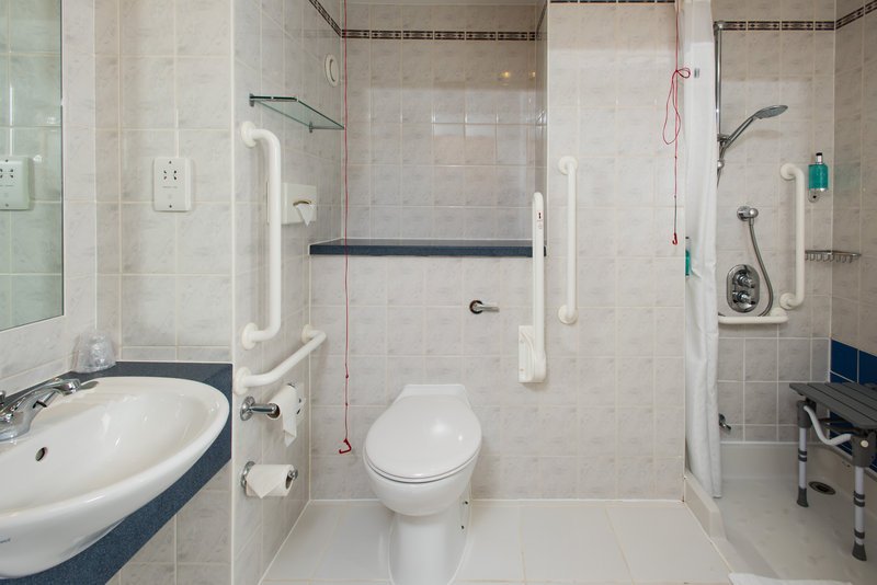 Holiday Inn Express Peterborough-Our accessible en-suites are wheelchair friendly<br/>Image from Leonardo