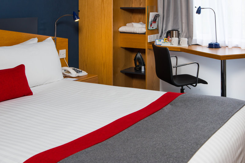 Holiday Inn Express Peterborough-Enjoy a cup of tea or coffee in your comfy guestroom.<br/>Image from Leonardo