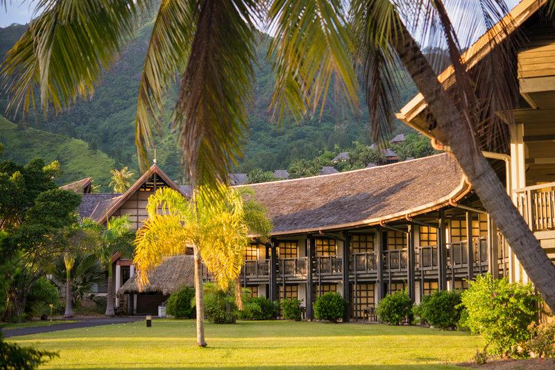 Intercontinental Moorea Resort-Lanai Room<br/>Image from Leonardo