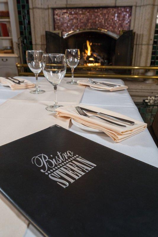 Best Western Fireside Inn-Table Menu<br/>Image from Leonardo