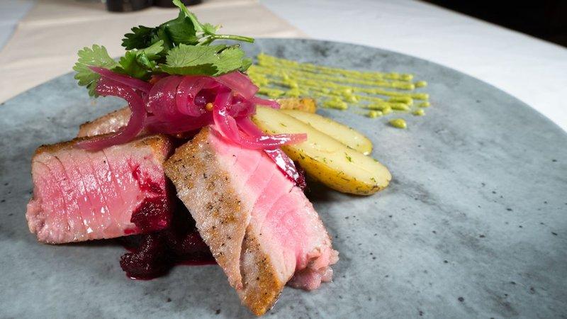 Best Western Fireside Inn-Seared Tuna<br/>Image from Leonardo