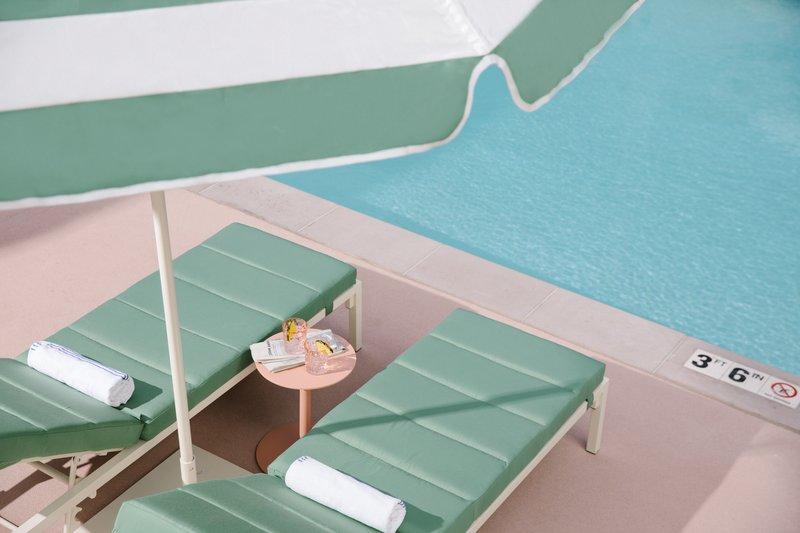 Park MGM Las Vegas - Pool Lounge Chairs <br/>Image from Leonardo