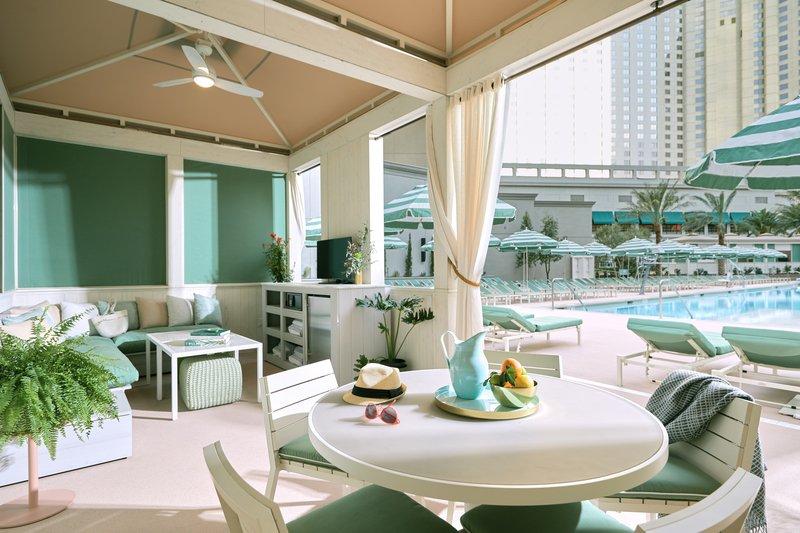 Park MGM Las Vegas - Pool And Cabana <br/>Image from Leonardo