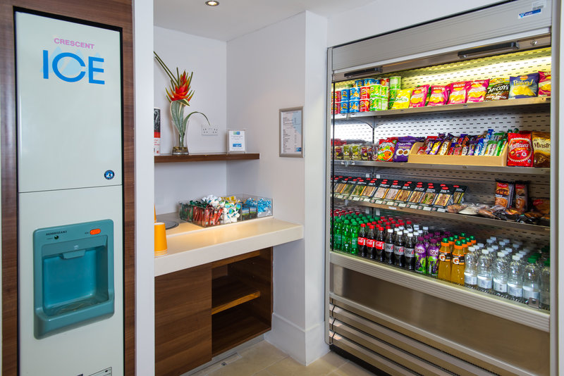 Holiday Inn Express Milton Keynes-Vending facilities are located on our Ground Floor<br/>Image from Leonardo