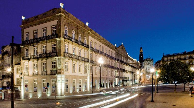Intercontinental Porto - Palacio das Cardosas-XVIII Century Palace a National Monument  located in city cente <br/>Image from Leonardo