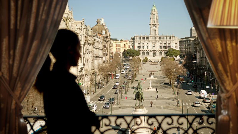Intercontinental Porto - Palacio das Cardosas-Main Square View<br/>Image from Leonardo