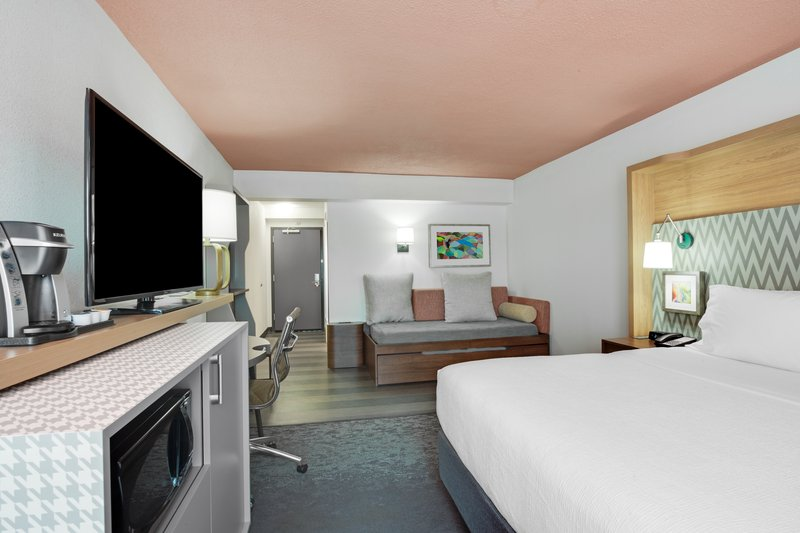 Holiday Inn Roanoke - Valley View-Our King Room with a trundle bed for those extra little guests!<br/>Image from Leonardo