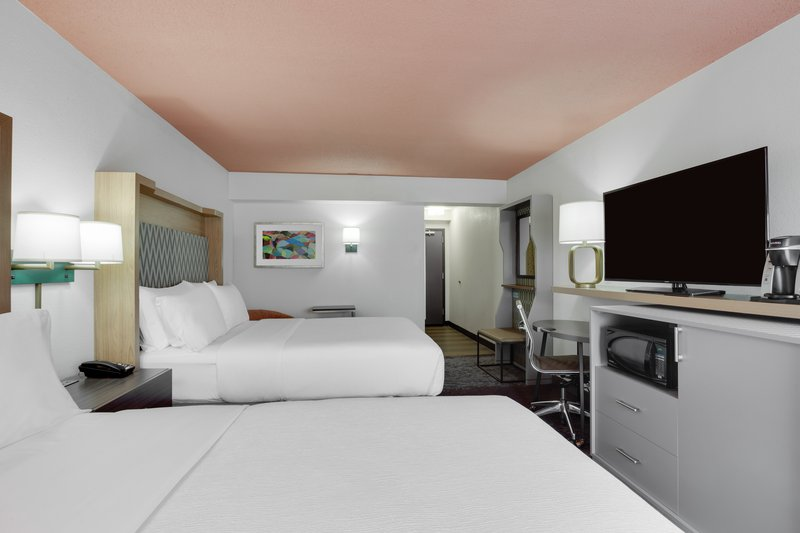 Holiday Inn Roanoke - Valley View-Everything in our Queen/Queen Rooms to make you feel at home!<br/>Image from Leonardo