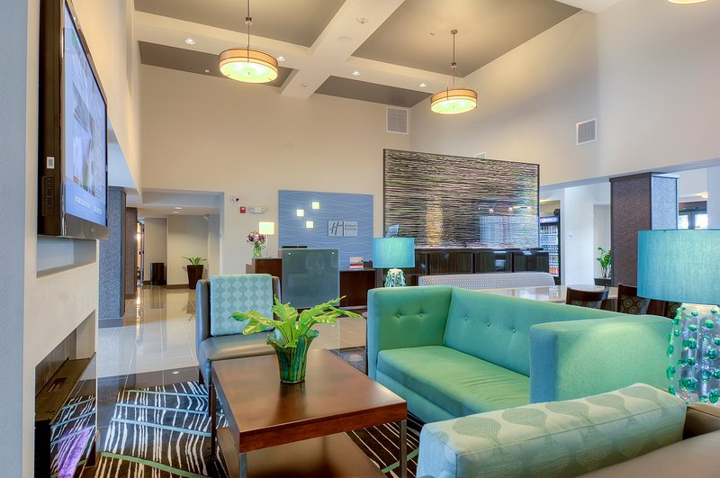 Holiday Inn Express & Suites Carlsbad Beach 4.4/5 | 506 Revi-Relaxing area and seating for Thermo Fisher and corporate guests<br/>Image from Leonardo