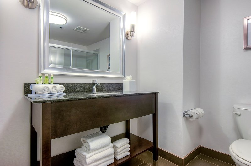 Holiday Inn Express & Suites Carlsbad Beach 4.4/5 | 506 Revi-Guest Bathroom w/ modern amenities<br/>Image from Leonardo