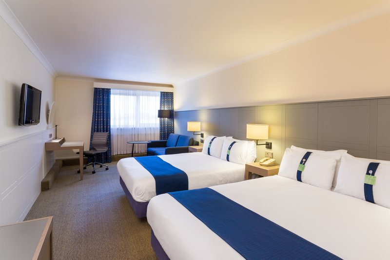 Holiday Inn Cambridge-Comfortable Two Bed Nonsmoking Room with Sofa<br/>Image from Leonardo