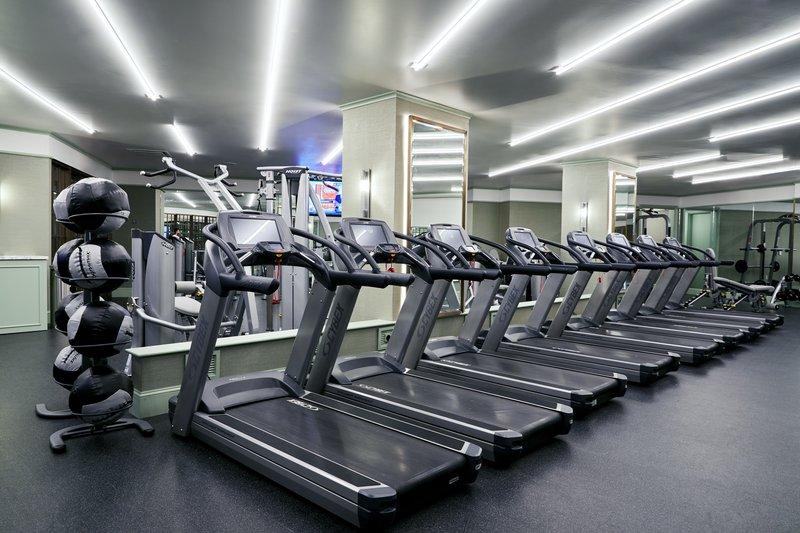 Park MGM Las Vegas - Fitness Center Treadmills <br/>Image from Leonardo