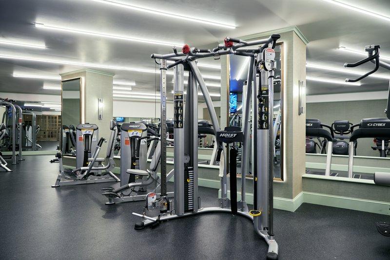 Park MGM Las Vegas - Fitness Center Machines <br/>Image from Leonardo