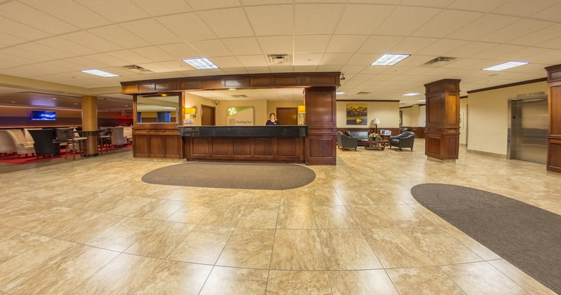 Holiday Inn Des Moines - Airport / Conf Ctr-Des Moines Airport Hotel Lobby<br/>Image from Leonardo