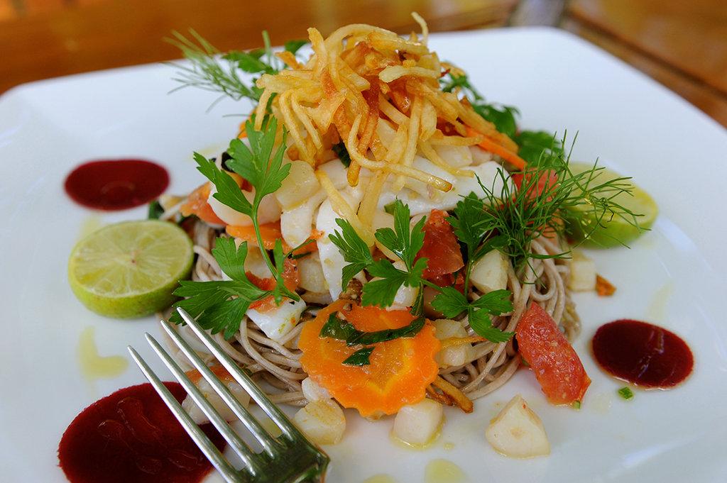 Le Taha'a Island Resort & Spa - Gourmet Dish <br/>Image from Leonardo