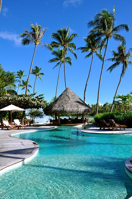 Le Taha'a Island Resort & Spa - Pool <br/>Image from Leonardo