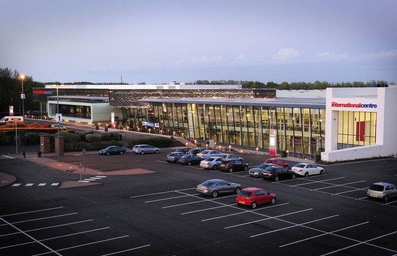 Holiday Inn Telford - Ironbridge-Telford International Centre adjacent to the hotel<br/>Image from Leonardo