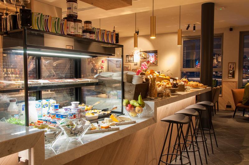 Hotel Indigo Antwerp - City Centre-QA's Kitchen | A wide breakfast selection<br/>Image from Leonardo