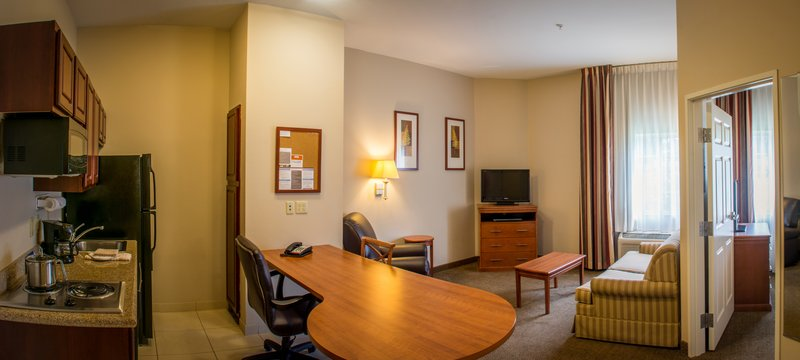 Candlewood Suites South Bend Airport-Spacious 1 Bedroom Suite with Pull Out Sofa Sleeper<br/>Image from Leonardo