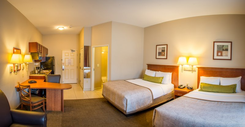 Candlewood Suites South Bend Airport-2 Queen Bed Studio Suite with Full Kitchen, Workdesk and Recliner<br/>Image from Leonardo