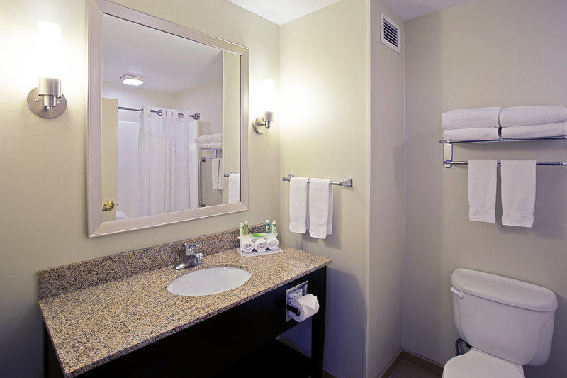 Holiday Inn Express & Suites Grand Rapids - North-Guest Bathroom<br/>Image from Leonardo