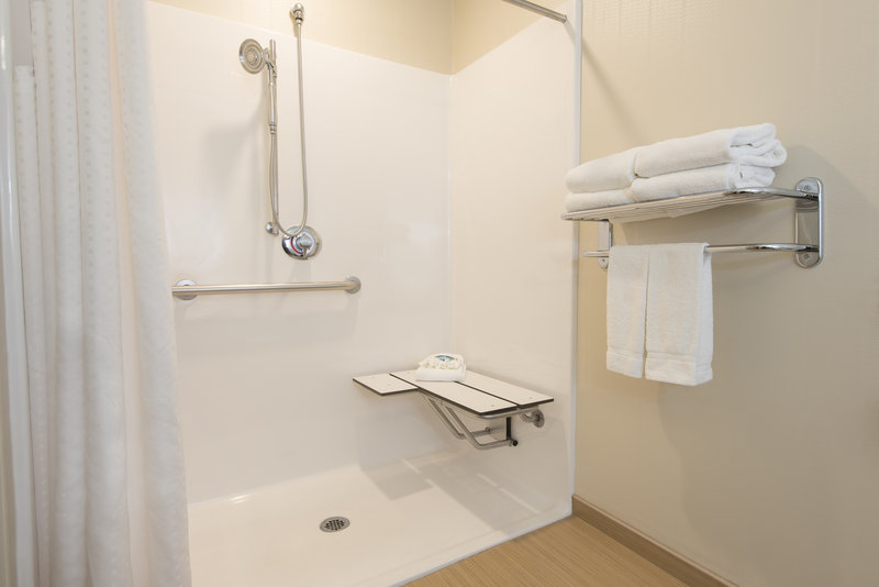 Holiday Inn Express & Suites Grand Rapids - North-Roll-In Shower<br/>Image from Leonardo