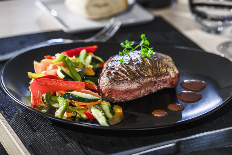 Holiday Inn Toulouse Airport-Enjoy our Black Angus steak.<br/>Image from Leonardo