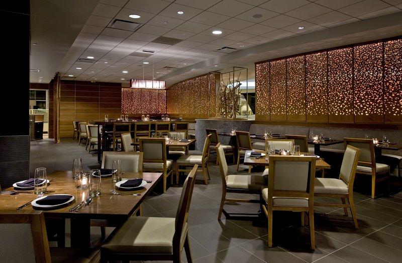 Crowne Plaza Chicago Ohare Hotel & Conference Center-Chicago Fire Oven Restaurant Dining<br/>Image from Leonardo
