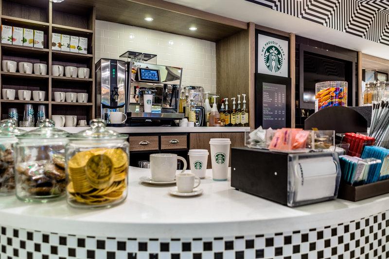 Holiday Inn London - Watford Junction-Don't be short on Starbucks<br/>Image from Leonardo