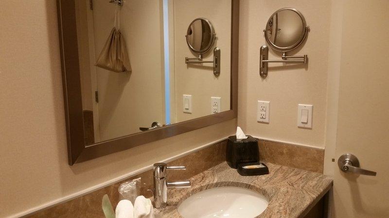 Holiday Inn L.I. City-Manhattan View-Guest Bathroom<br/>Image from Leonardo