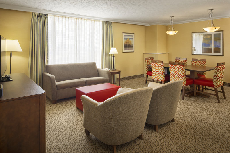 Crowne Plaza Louisville Airport Expo Center-Parlor Suite. More space for working and relaxing <br/>Image from Leonardo