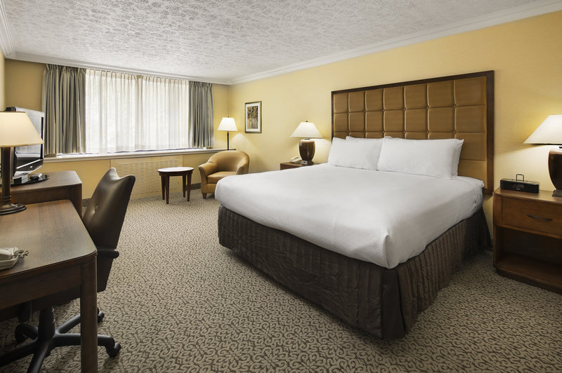 Crowne Plaza Louisville Airport Expo Center-King Bed Guest Room<br/>Image from Leonardo