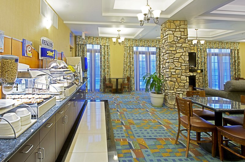 Holiday Inn Express & Suites Tucson-Breakfast Bar<br/>Image from Leonardo