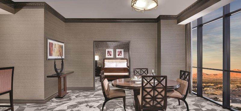 Luxor Resort and Casino-Tower Premier Deluxe One Bedroom Suite<br/>Image from Leonardo