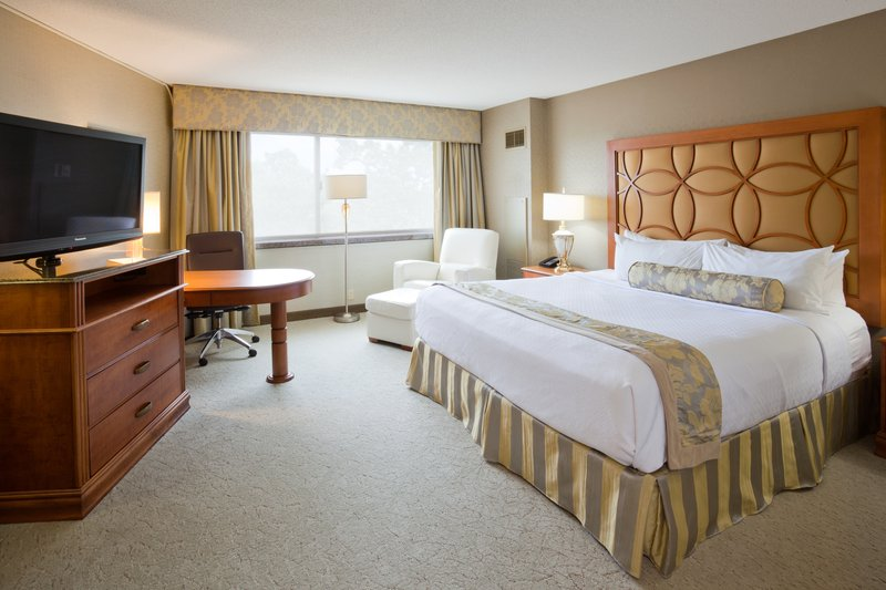 Crowne Plaza Minneapolis West-Executive King Room<br/>Image from Leonardo